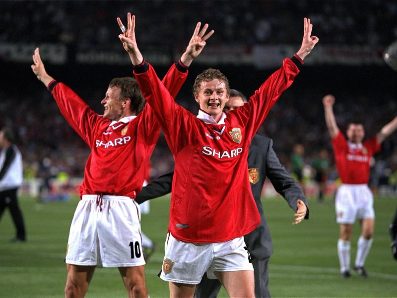sheringham and solskjaer-spot